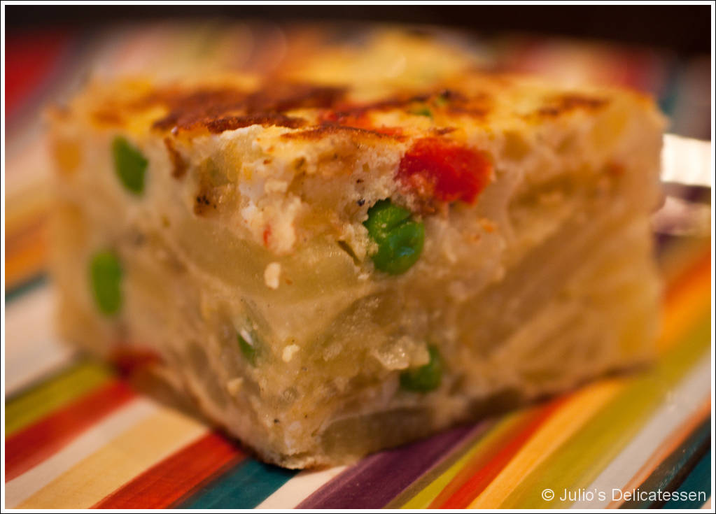 Spanish tortilla with roasted red peppers julios delicatessen click here for a pdf of this recipe without photos forumfinder Image collections