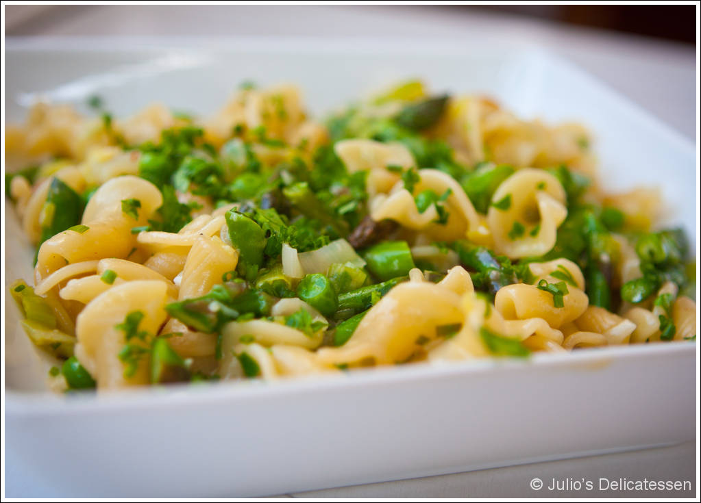 Spring vegetable pasta julios delicatessen click here for a pdf of this recipe without photos forumfinder Images