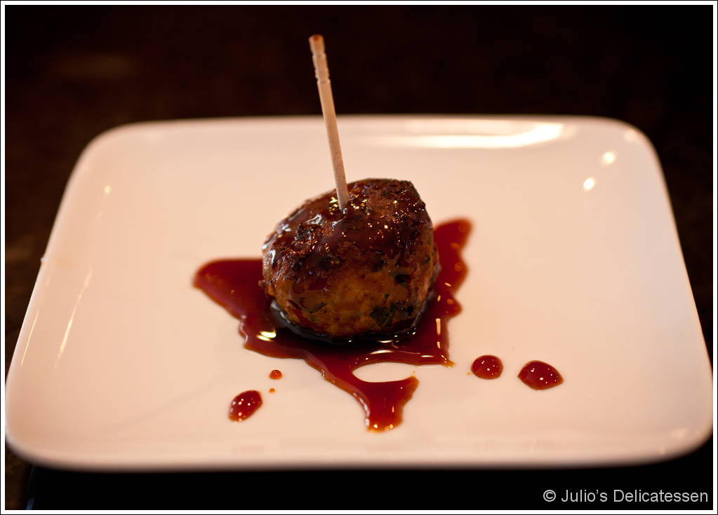 Scallion Meatballs with Ginger Soy Glaze | Julio's ...